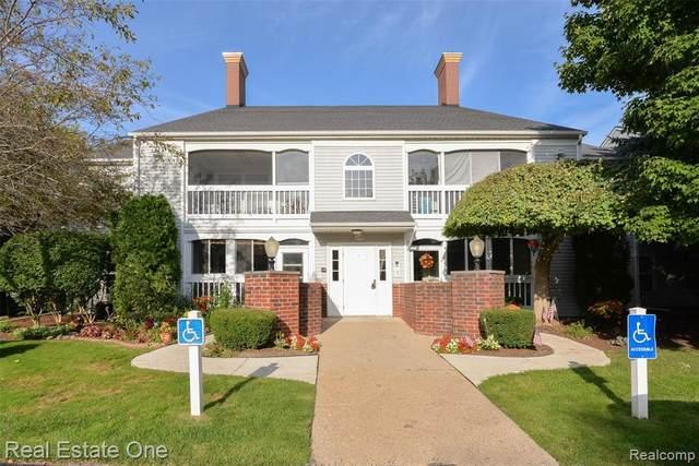 1139 Curzon Ct Apt 104 Crt, Howell, MI 48843 (MLS #R2200074268) :: Berkshire Hathaway HomeServices Snyder & Company, Realtors®