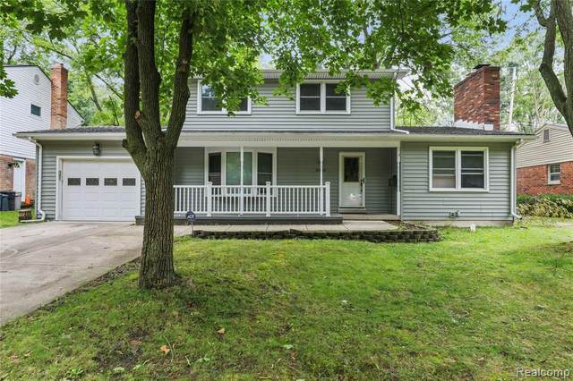 2020 Collegewood St, Ypsilanti, MI 48197 (MLS #R2200074707) :: Berkshire Hathaway HomeServices Snyder & Company, Realtors®