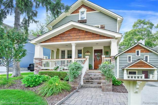 311 N Castell Ave, Rochester, MI 48307 (MLS #R2200075589) :: Berkshire Hathaway HomeServices Snyder & Company, Realtors®