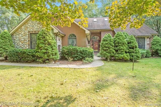 366 N Hughes Rd, Howell, MI 48843 (MLS #R2200075670) :: Berkshire Hathaway HomeServices Snyder & Company, Realtors®