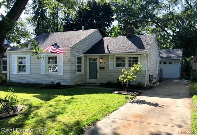 4417 Olivia Ave, Royal Oak, MI 48073 (MLS #R2200077314) :: Berkshire Hathaway HomeServices Snyder & Company, Realtors®