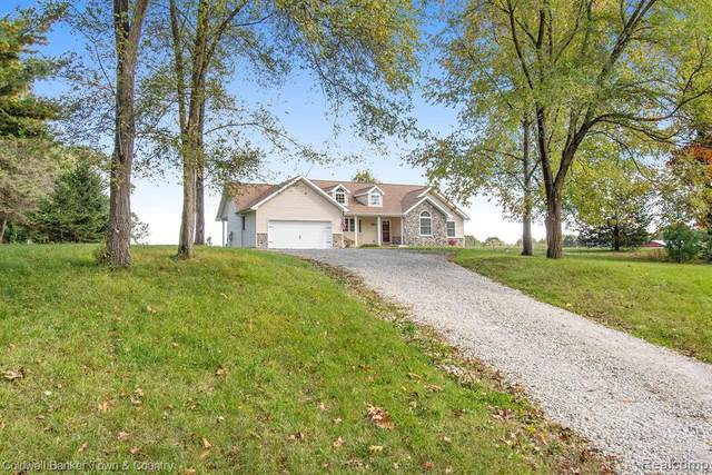5055 Pleasant Lake Road, Howell, MI 48843 (MLS #R2200083815) :: Berkshire Hathaway HomeServices Snyder & Company, Realtors®
