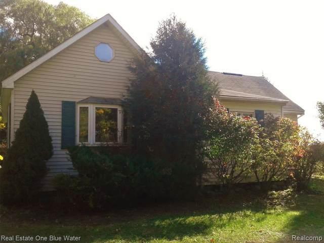1344 N Stringer Rd N, Sandusky, MI 48471 (MLS #R2200084579) :: Berkshire Hathaway HomeServices Snyder & Company, Realtors®