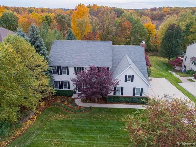 3633 Lakewood Shores Dr, Howell, MI 48843 (MLS #R2200086254) :: Berkshire Hathaway HomeServices Snyder & Company, Realtors®