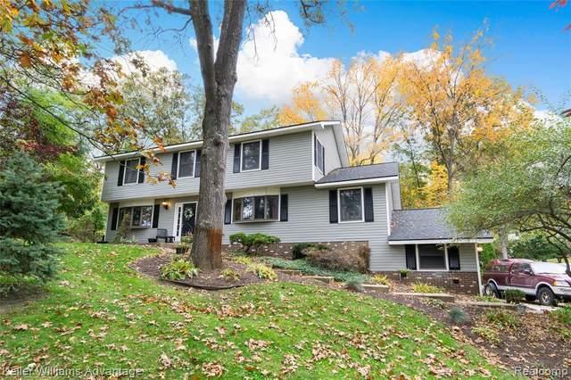 8256 Kiowa Trl, Pinckney, MI 48169 (MLS #R2200086255) :: Berkshire Hathaway HomeServices Snyder & Company, Realtors®