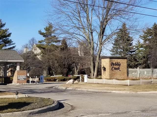 7405 Pebble Pnt, West Bloomfield, MI 48322 (MLS #R2200088598) :: Berkshire Hathaway HomeServices Snyder & Company, Realtors®
