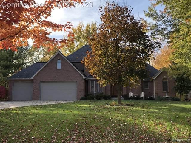 16520 W Horseshoe Trl, Linden, MI 48451 (MLS #R2200089203) :: Berkshire Hathaway HomeServices Snyder & Company, Realtors®