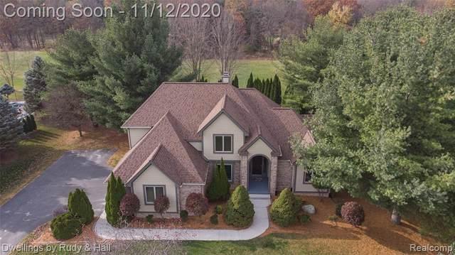 8593 Webster Hills Rd, Dexter, MI 48130 (MLS #R2200090800) :: Berkshire Hathaway HomeServices Snyder & Company, Realtors®