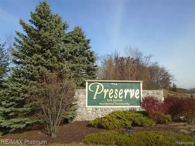 0-LOT 65 Preserve Drive, Fenton, MI 48430 (MLS #R2200091841) :: Berkshire Hathaway HomeServices Snyder & Company, Realtors®