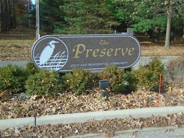 0-LOT 66 Preserve Drive, Fenton, MI 48430 (MLS #R2200091842) :: Berkshire Hathaway HomeServices Snyder & Company, Realtors®
