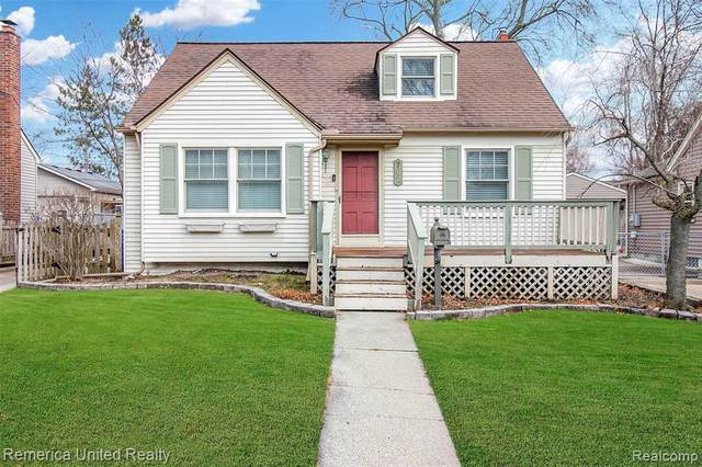 702 N Harvey St, Plymouth, MI 48170 (MLS #R2200096377) :: Berkshire Hathaway HomeServices Snyder & Company, Realtors®