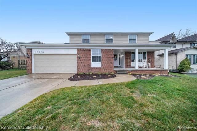 45166 Quaker Hill Dr, Canton, MI 48187 (MLS #R2200096656) :: Berkshire Hathaway HomeServices Snyder & Company, Realtors®