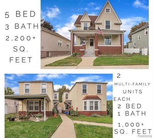 316 Sycamore St, Wyandotte, MI 48192 (MLS #R2200097051) :: Berkshire Hathaway HomeServices Snyder & Company, Realtors®