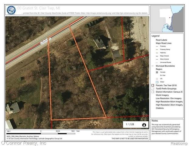 0 Gratiot Rd, Out Of Area, MI 48079 (MLS #R2200097295) :: Berkshire Hathaway HomeServices Snyder & Company, Realtors®