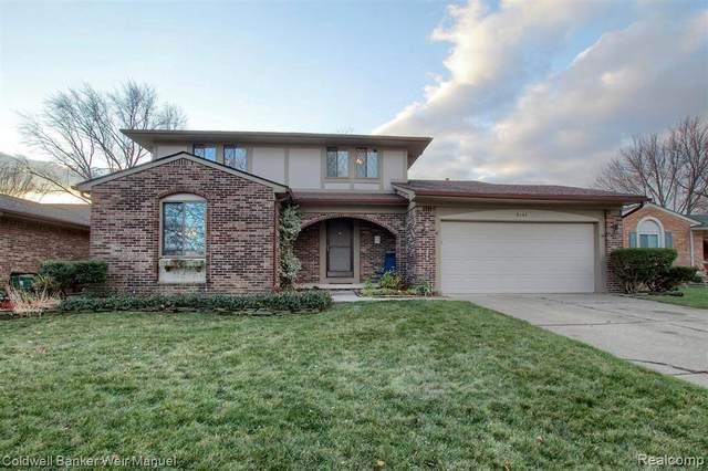 6141 Winter Dr, Canton, MI 48187 (MLS #R2200097306) :: Berkshire Hathaway HomeServices Snyder & Company, Realtors®