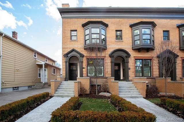1627 Leverette St, Detroit, MI 48216 (MLS #R2200097711) :: Berkshire Hathaway HomeServices Snyder & Company, Realtors®