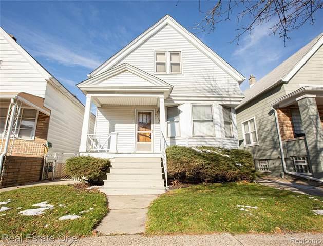 2719 Norwalk St, Hamtramck, MI 48212 (MLS #R2200097915) :: Berkshire Hathaway HomeServices Snyder & Company, Realtors®