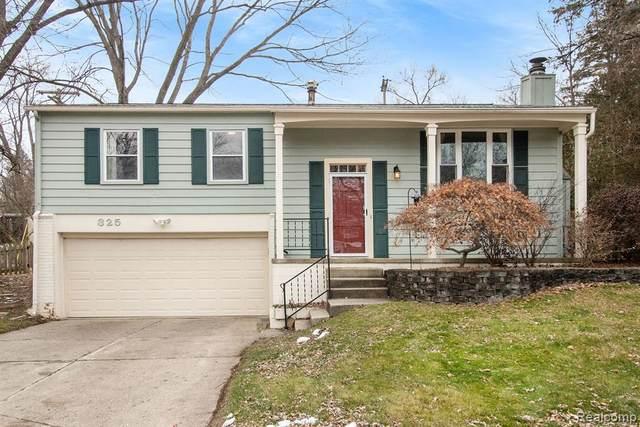 325 Manor Dr, Ann Arbor, MI 48105 (MLS #R2210001087) :: Berkshire Hathaway HomeServices Snyder & Company, Realtors®