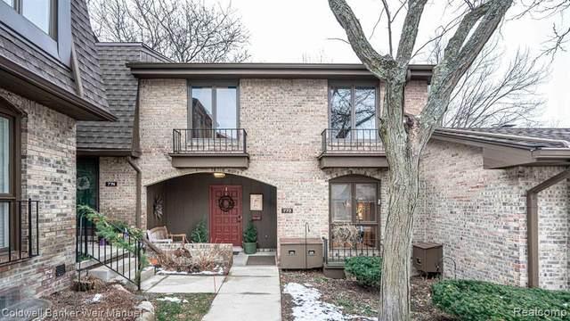 772 Greenhills Dr, Ann Arbor, MI 48105 (MLS #R2210002834) :: Berkshire Hathaway HomeServices Snyder & Company, Realtors®