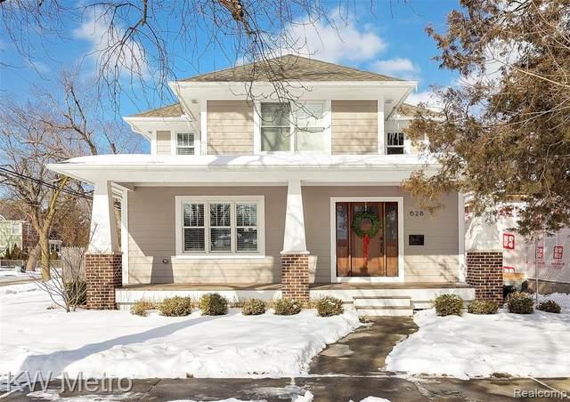 628 Walnut Avenue, Royal Oak, MI 48073 (MLS #R2210008799) :: Berkshire Hathaway HomeServices Snyder & Company, Realtors®