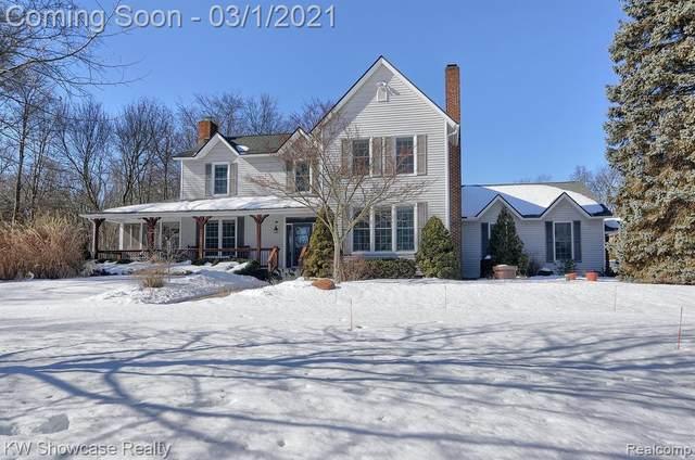 651 Hazy View Lane, Milford, MI 48381 (MLS #R2210012011) :: Berkshire Hathaway HomeServices Snyder & Company, Realtors®