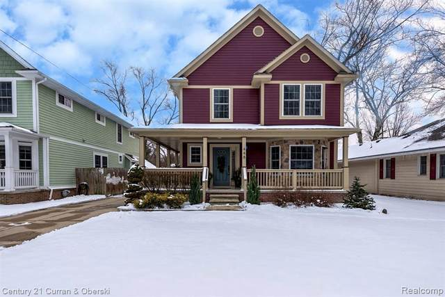 448 Girard Avenue, Royal Oak, MI 48073 (MLS #R2210012695) :: Berkshire Hathaway HomeServices Snyder & Company, Realtors®