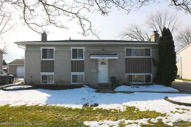 2830 Serra Drive, Sterling Heights, MI 48310 (MLS #R2210012760) :: Berkshire Hathaway HomeServices Snyder & Company, Realtors®