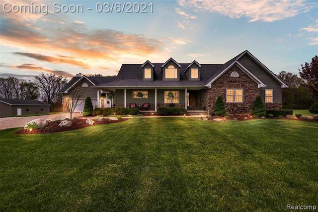 5355 Country Acres Trail, Howell, MI 48855 (MLS #R2210013666) :: Berkshire Hathaway HomeServices Snyder & Company, Realtors®