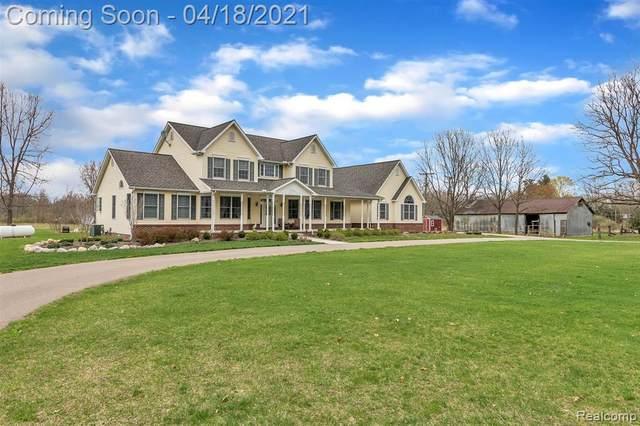 5275 Dansville Road, Stockbridge, MI 49285 (MLS #R2210024475) :: Berkshire Hathaway HomeServices Snyder & Company, Realtors®