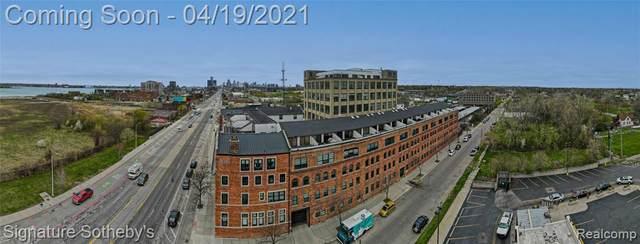6533 E Jefferson Ave # 13/126E, Detroit, MI 48207 (MLS #R2210025139) :: Berkshire Hathaway HomeServices Snyder & Company, Realtors®