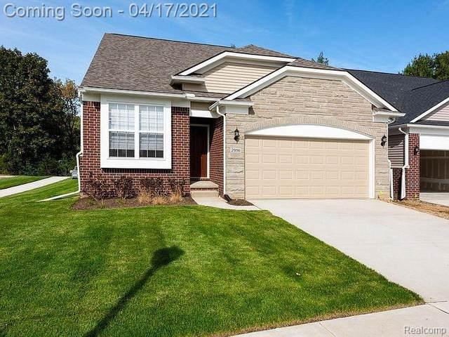 2996 Montana Way, Ann Arbor, MI 48105 (MLS #R2210025164) :: Berkshire Hathaway HomeServices Snyder & Company, Realtors®