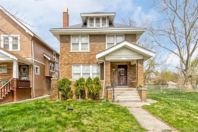 2534 S La Salle, Detroit, MI 48206 (MLS #R2210025356) :: Berkshire Hathaway HomeServices Snyder & Company, Realtors®