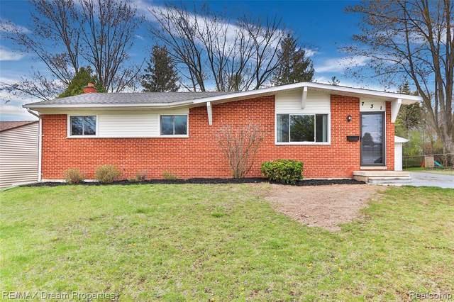 731 N Harris Street, Saline, MI 48176 (MLS #R2210025845) :: Berkshire Hathaway HomeServices Snyder & Company, Realtors®