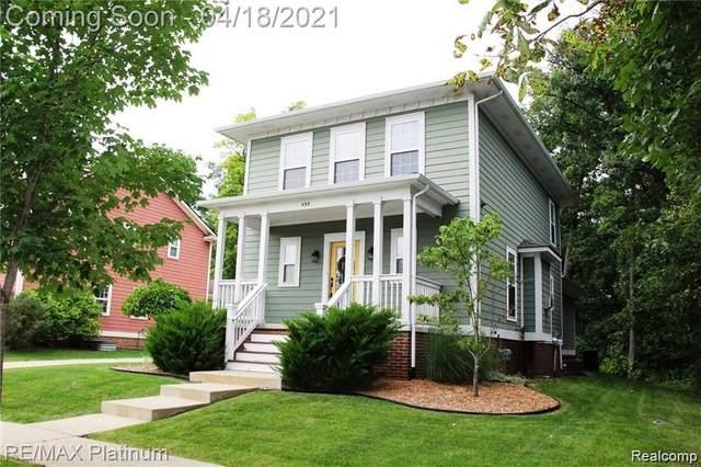 498 Kimball Street, Howell, MI 48855 (MLS #R2210026517) :: Berkshire Hathaway HomeServices Snyder & Company, Realtors®