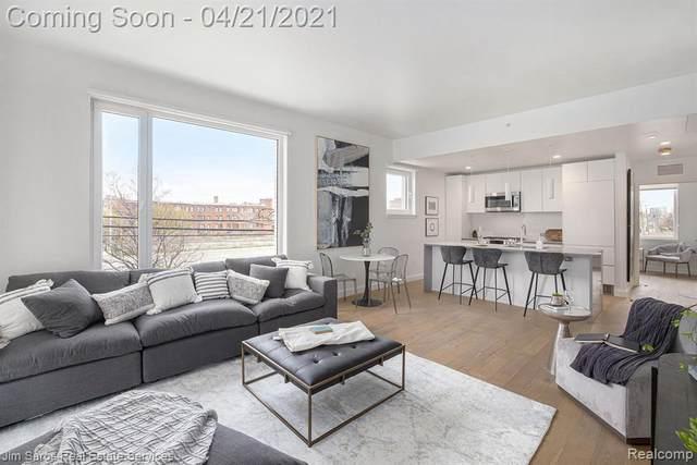 3730 4th Street 2E, Detroit, MI 48201 (MLS #R2210027411) :: Berkshire Hathaway HomeServices Snyder & Company, Realtors®