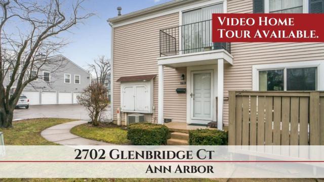 2702 Glenbridge Court, Ann Arbor, MI 48104 (MLS #3262842) :: The Toth Team