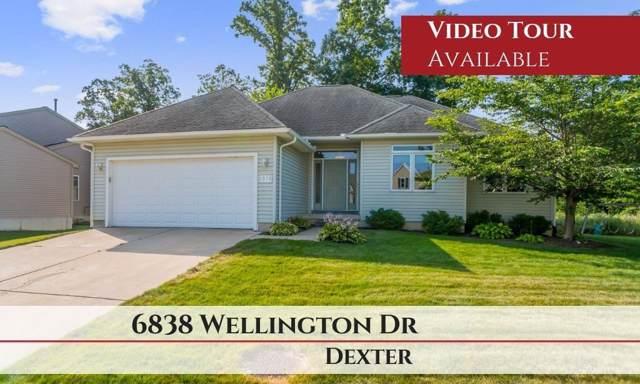 6838 Wellington Drive, Dexter, MI 48130 (MLS #3268086) :: Berkshire Hathaway HomeServices Snyder & Company, Realtors®