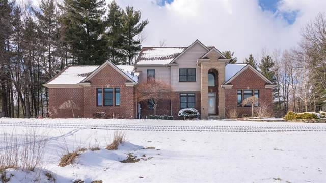 18550 Blue Heron Drive, Manchester, MI 48158 (MLS #3271062) :: The Toth Team