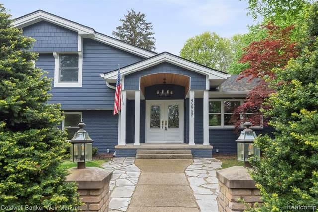 45882 7 Mile Road, Northville, MI 48167 (MLS #R2210031801) :: Berkshire Hathaway HomeServices Snyder & Company, Realtors®