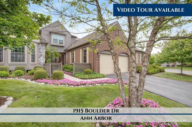 1915 Boulder Drive, Ann Arbor, MI 48104 (MLS #3281035) :: Berkshire Hathaway HomeServices Snyder & Company, Realtors®
