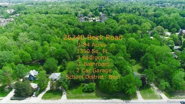 26232 Beck Road, Novi, MI 48374 (MLS #R2210050148) :: Berkshire Hathaway HomeServices Snyder & Company, Realtors®
