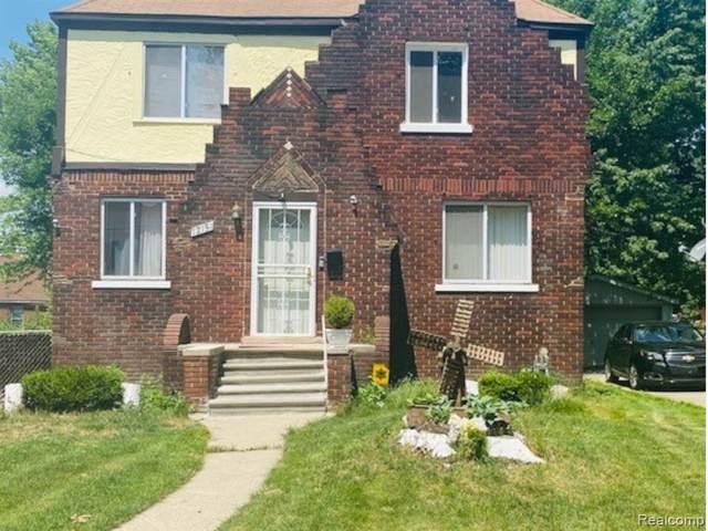 12151 Whitehill St, Detroit, MI 48224 (MLS #R2210051135) :: Berkshire Hathaway HomeServices Snyder & Company, Realtors®