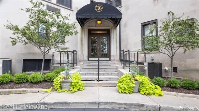 2900 E Jefferson Ave # 8-C1, Detroit, MI 48207 (MLS #R2210053036) :: Berkshire Hathaway HomeServices Snyder & Company, Realtors®