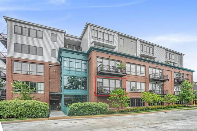 410 N 1st Street #107, Ann Arbor, MI 48103 (MLS #3282530) :: Berkshire Hathaway HomeServices Snyder & Company, Realtors®