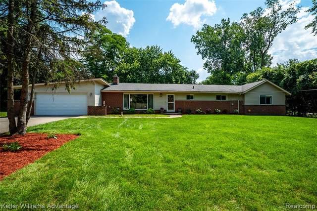 2851 Franklin Road, Bloomfield Hills, MI 48302 (MLS #R2210062868) :: Berkshire Hathaway HomeServices Snyder & Company, Realtors®