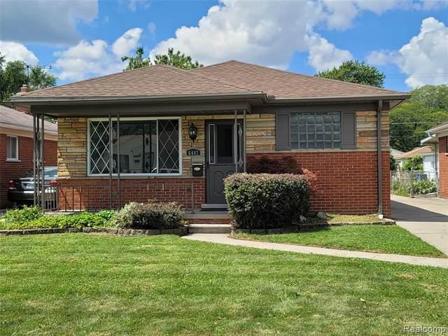 6447 Kingsbury Street, Dearborn Heights, MI 48127 (MLS #R2210064171) :: Berkshire Hathaway HomeServices Snyder & Company, Realtors®