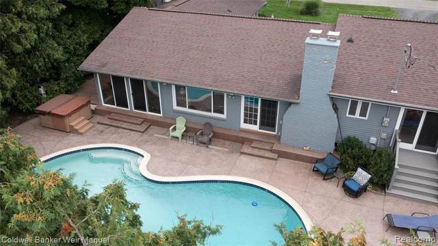 3911 Shellmarr Lane, Bloomfield Hills, MI 48302 (MLS #R2210068476) :: Berkshire Hathaway HomeServices Snyder & Company, Realtors®