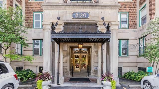 8120 E Jefferson Ave # 49/4F, Detroit, MI 48214 (MLS #R2210066240) :: Berkshire Hathaway HomeServices Snyder & Company, Realtors®