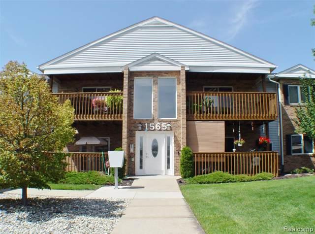 1565 Harbour Boulevard #182, Trenton, MI 48183 (MLS #R2210066328) :: Berkshire Hathaway HomeServices Snyder & Company, Realtors®