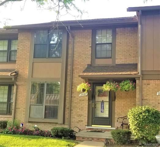 2487 Old Kent Road W, Warren, MI 48091 (MLS #R2210069687) :: Berkshire Hathaway HomeServices Snyder & Company, Realtors®